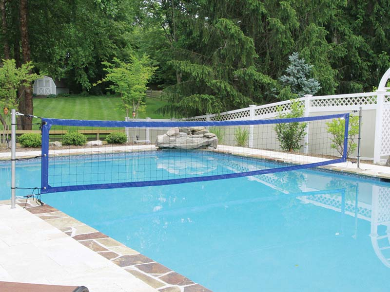 Enjoy Volleyball in Your Fiberglass Pool