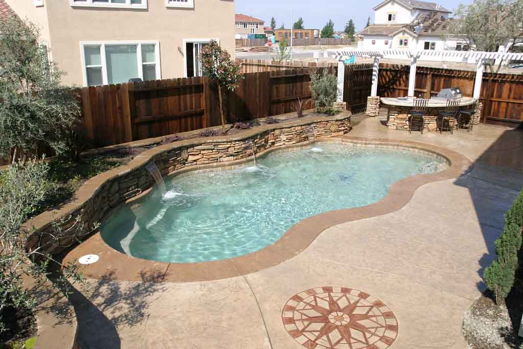Options For Pool Coping